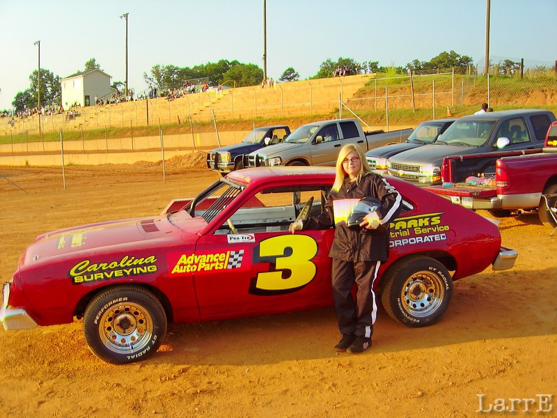 ALYSSA CHARPING drove #3 in young guns class
