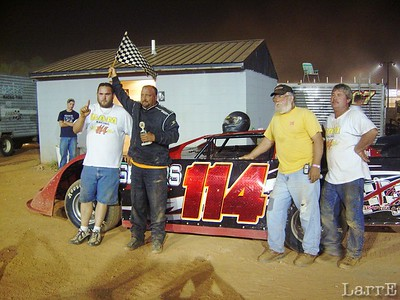#114 Steven Segars wins his feature event