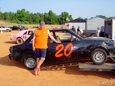 #20 in front wheel drive class is CHAD BARBRE