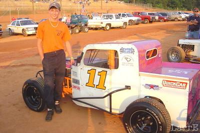 #11 Dwarf car is Justin Wrenn from Waterloo, SC