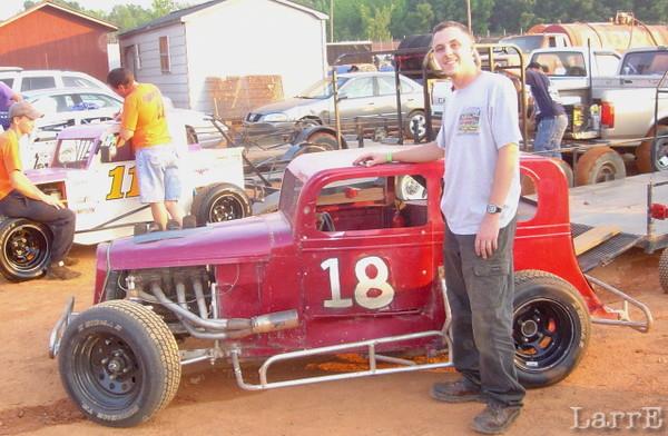 #18 Dwarf car is John Pennington from Fountain Inn, SC