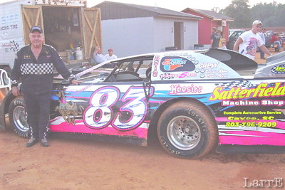 #83 Jim Blackwell (Scooby Doo) won the feature race