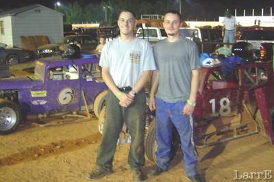 #6 is Lee Pennington, #18 is John Pennington. Both brothers started racing just last year.