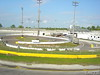 the quarter midget track is inside turns 1 and 2