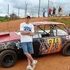 Greg drives #73