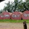 as you enter Travelers Rest Speedway