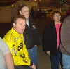 Kenny Wallace and dad and mom.