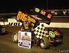 Jason Solwold winner of the O'Reilly All Star sprint feature