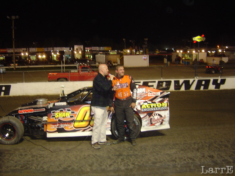 Steve Arpin came from Canada to claim the UMP monified feature event at Volusia.