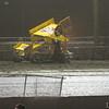 #22 Hodnett blew a tire