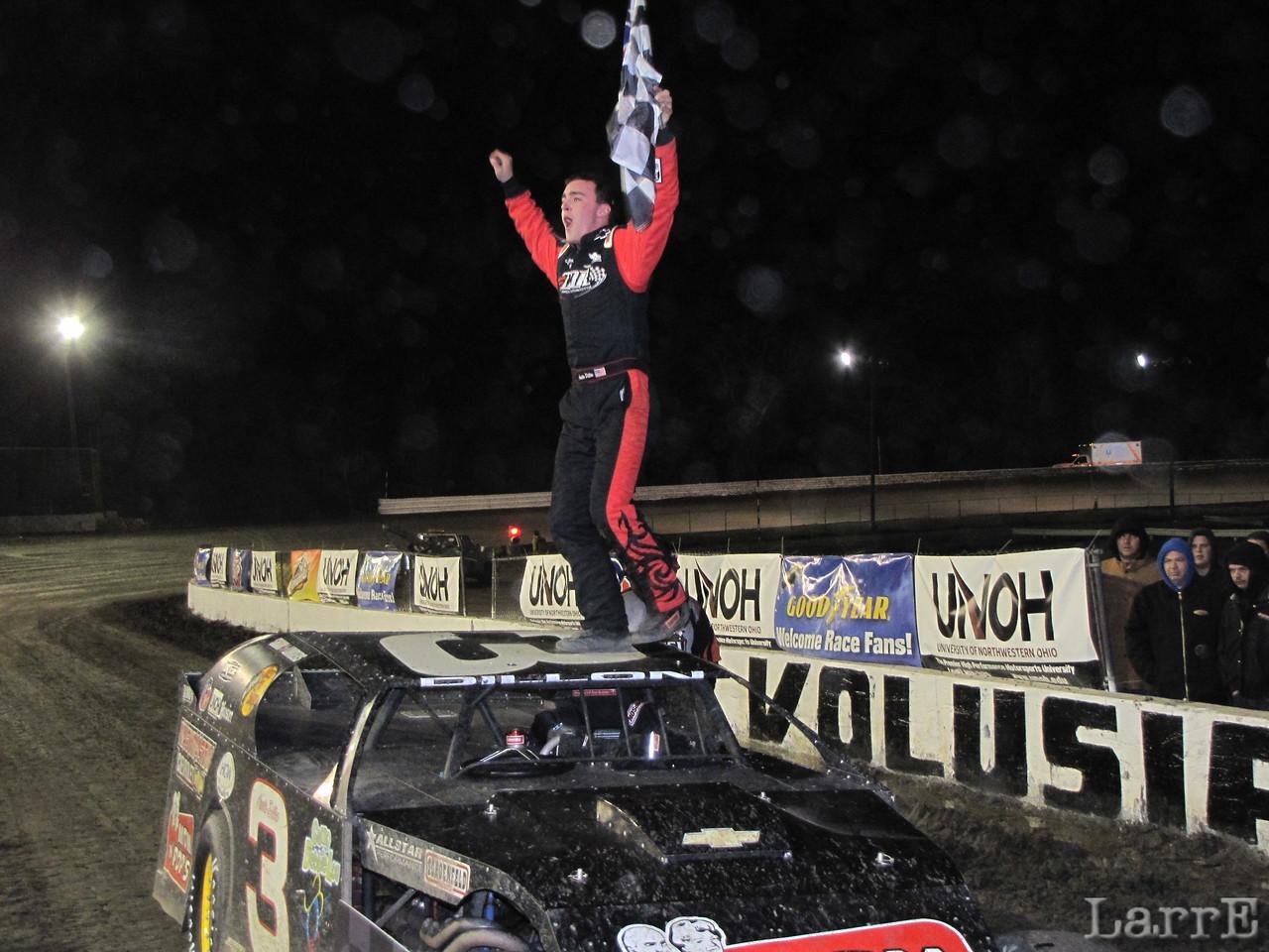 Austin Dillon wins