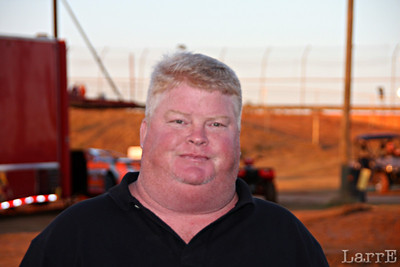 "Say hi to Red ""Mr Screven Speedway""... He is one of the best promoters in racing"