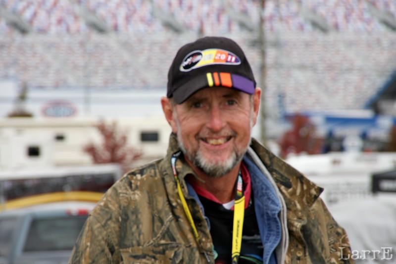 Ted Barnes...#1 race fan