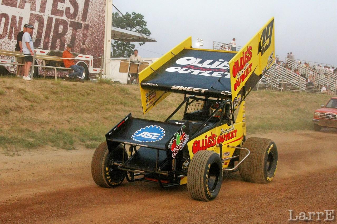 #49 Brad Sweet was 5th