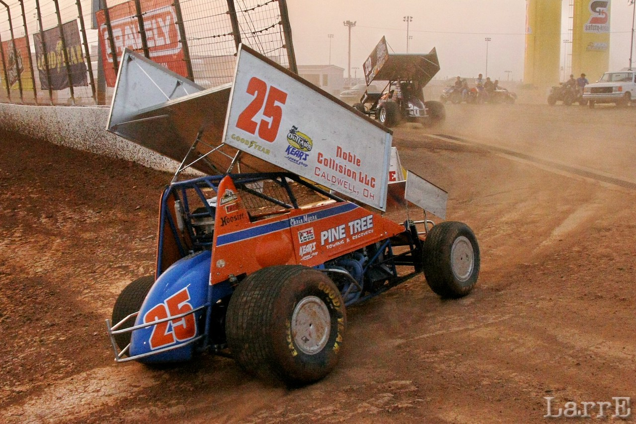 #25 Chris Meyers was 24th