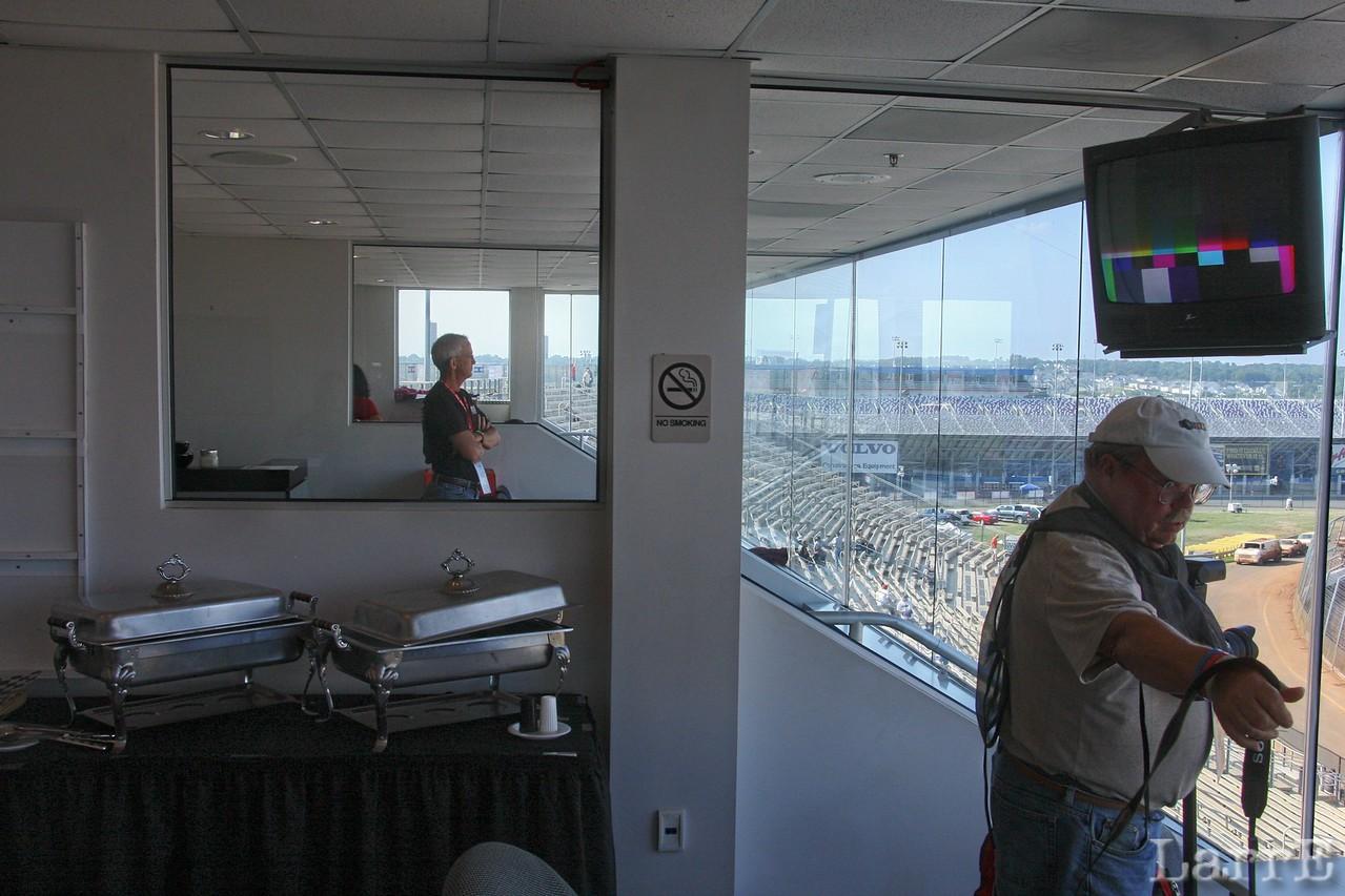 media room with John Davison