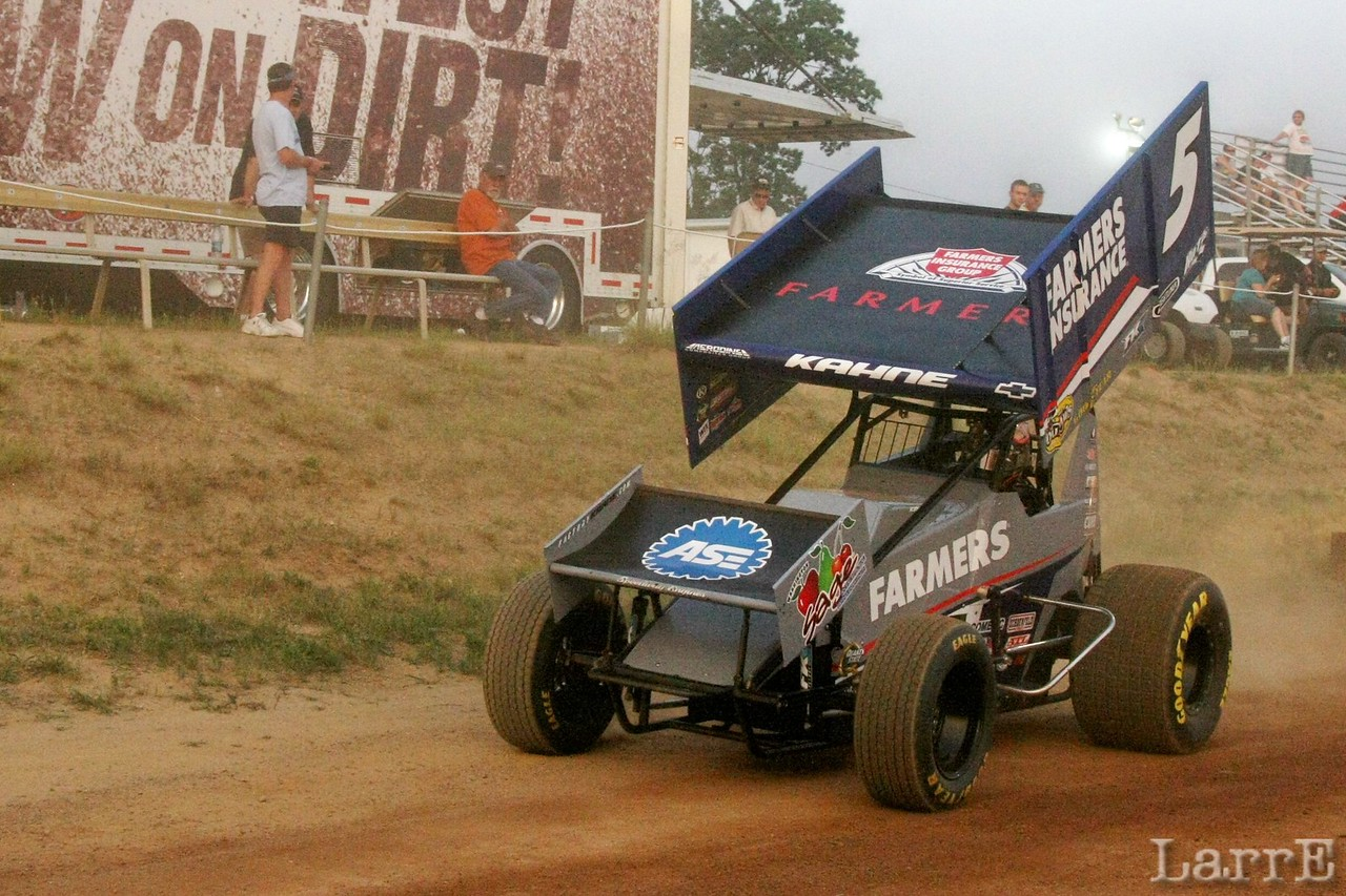 #5 Kasey Kahne was 7th