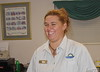Samantha works at the exit 73 Days Inn
