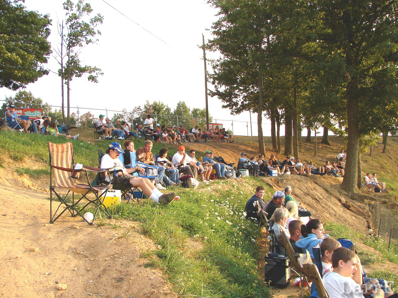 Turn 4 hillside seating