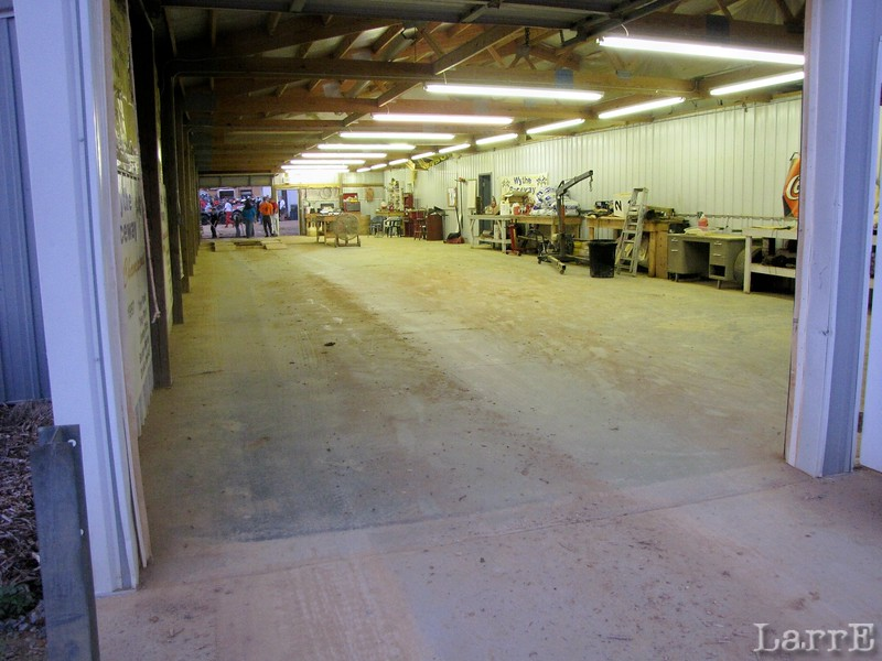 what does your inspection area look like?