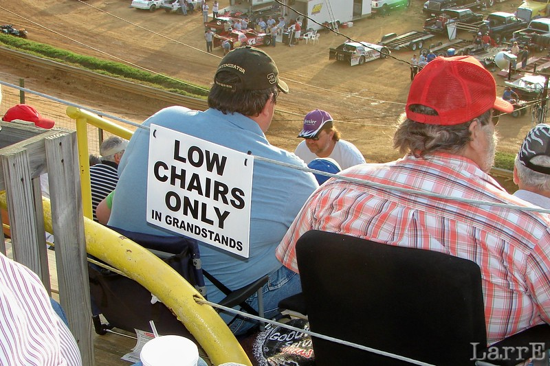 bring your own low chairs (no legs)
