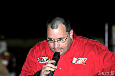 Westley Outland the voice of the USCS Sprint Car Series.