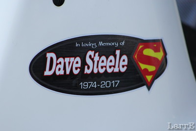 Dave was killed racing his sprint car a week ago in Florida