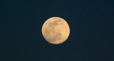 Oh yes, it was a full moon night too.