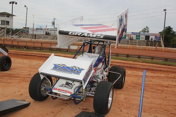 Racesaver Sprint Cars..Sumter,SC..Sep 20, 2014