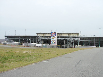 The dirt track at Lowes
