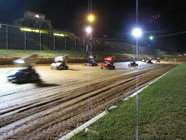 VIDEO -- full field of Mini Sprint cars