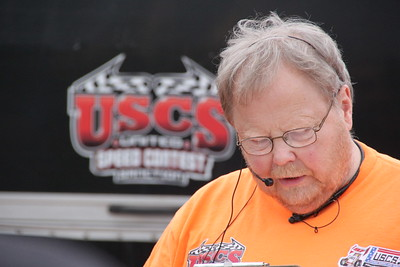 Pete Walton runs the USCS Sprint Car Series