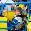 Eric Riggins Jr, just 14 years old, finished 10th in his first sprint car race.