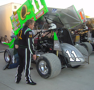 Lowes WoO Sprint cars May 23, 2008