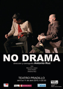 NO DRAMA. Cartel Teatro Pradillo. Madrid, Abril 2010