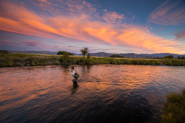 Middle Provo River, Fly Fishing, Utah photo:Adam Clark