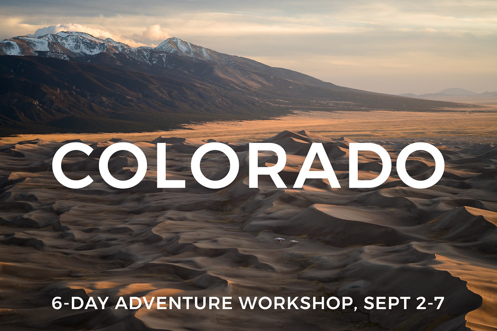 1735 was a trip for Sony and the National Parks Projects. <br /> <br /> Principal images were shot in Colorado in the Great Sand Dune National Park to complete a video project for Sony. Additional imagery was shot on the road trip out for the National Parks. <br /> <br /> Chris Dahl is the ultralight pilot associated with the trip and Renan Ozturk is the DP.