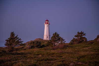The Louisbourg Lighthouse at dawn