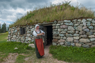 The Highland Village Museum in Iona