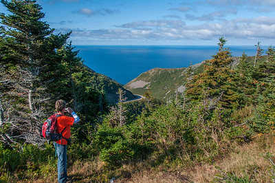 The annual 'Hike The Highlands' festival took these hikers to the Skyline Trail on the west side of Cape Breton Island in Cape Breton Highlands National Park between the communities of Cheticamp and Pleasant Bay.