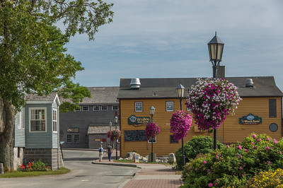 All of the following images constitute a GPS guided walking tour of of the historic town of Shelburne