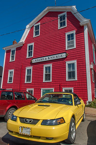 Scenes around the waterfront and town of Lunenburg