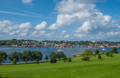 The town of Lunenburg was founded in the mid 1700s by settlers from Germany. The town was declared a UNESCO World Heritage Site because of the enormous collection of fine wooden houses built by ship owners and merchants.