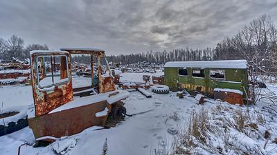 Chernobyl abandoned vehicles