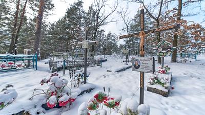 Chernobyl A cemetery
