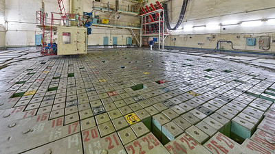 Chernobyl Nuclear Power Plant Reactor 3 Control rods