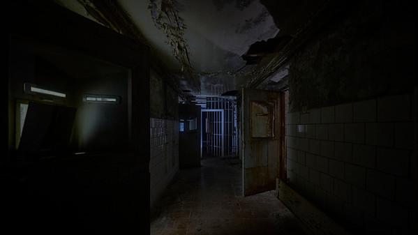Pripyat police station and jail