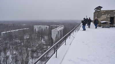Pripyat seen from rooftop