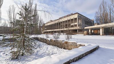 Pripyat downtown