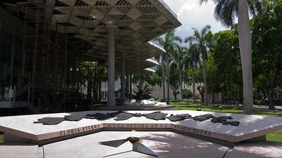 Mémorial Granma au musée de la Révolution à la Havane